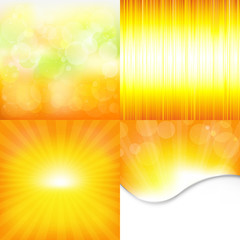 Orange And Yellow Backgrounds