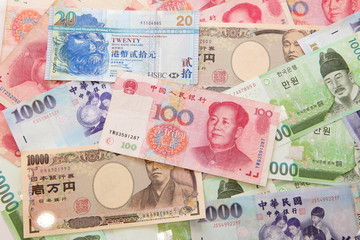 Asian currencies