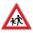 Verkehrsschild - 136 Kinder