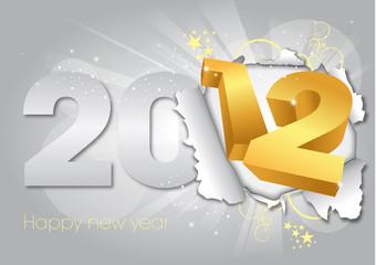 2012 - Happy New Year card