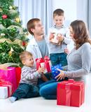 Fototapety Christmas family