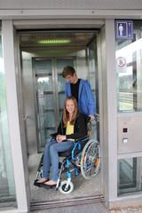 Fahrstuhl Rollstuhl