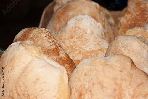 Hogazas de pan tostado