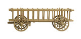nostalgic hay wagon model poster