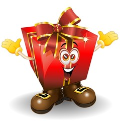 Natale Regalo Fumetto-Christmas Gift Present Cartoon Comics