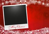 Fototapety Cartolina Natale con Polaroid