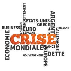 mots sur le thème de la crise