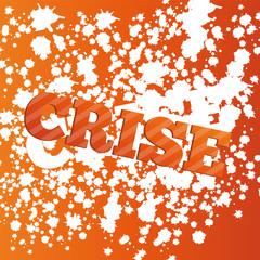 vecteur, fond abstrait, crise