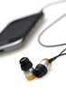 in ear headphone with mobile audio player