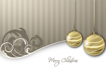 silver & Gold Background