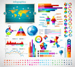 Detaily fotografie premium infographics master collection: