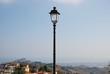public street lamp, Monteprandone, Italy