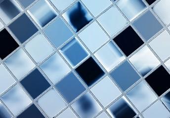 Mosa bleue