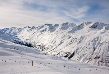 Ski resort  Hohrgurgl. Austria