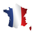 France bleu blanc rouge