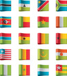 Vector flags. Africa, part 11