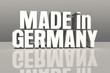 Made in Germany - silber 3D