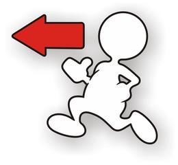 Figure White Running