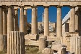 Parthenon under restoration poster