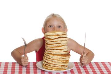 Peering Over Pancakes