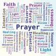 Nuage de mots - Prière