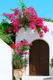Door in Lindos - island Rhodes, Greece - 36878279