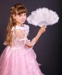 Child in carnival costume.