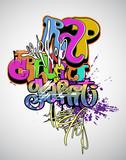 Fototapety Graffiti modern art