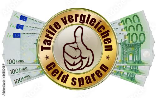 tarife vergleichen geld sparen online vergleichen button