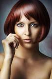 Fashion beauty portrait of glamour woman