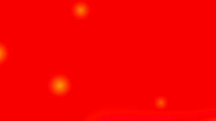 Falling orange spheres on a red background