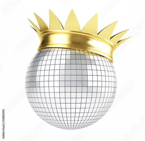 disco ball crown