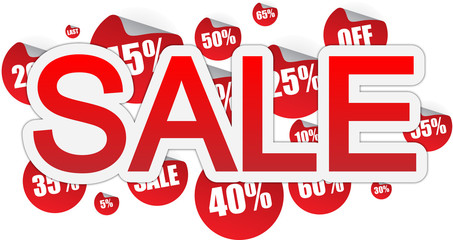 Sale text banner