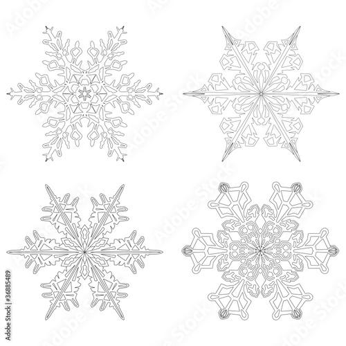 eiskristalle flocken symbole form weihnachten. Black Bedroom Furniture Sets. Home Design Ideas