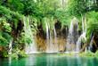 Fototapeten,wasserfall,fallen,cascade,kroatien