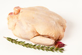 Whole uncooked chicken