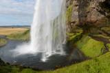 Fototapety la bellissima Cascata di seljalandsfoss in Islanda