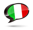 """Italian-Speaking"" 3D Speech Bubble"