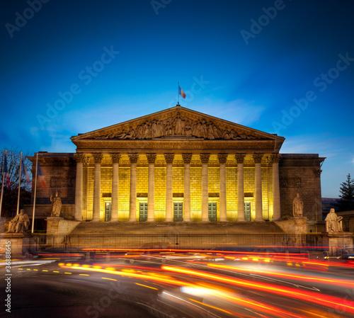 Assemblée nationale, Paris. France