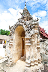 The entrance of Wat Lai Hin, Lampang