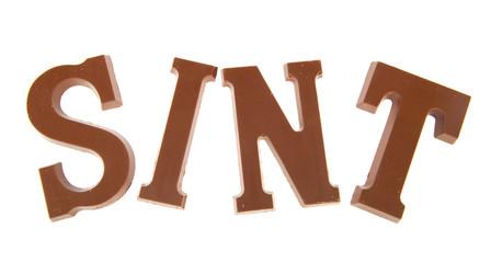 Sinterklaas chocolate letters