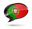 """Portuguese-Speaking"" 3D Speech Bubble"
