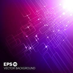 Purple tech background