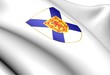 Nova Scotia coat of arms, Canada.