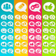 Speech Bubbles Media Icons