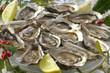 Coquillages -Assiette d'huîtres