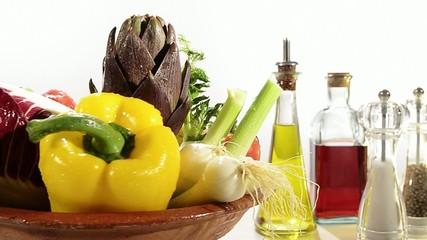 verdura e condimenti