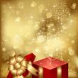 Magic Christmas gift box