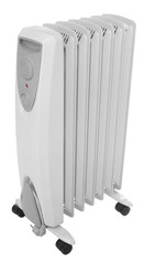 ölradiator incl. clipping path