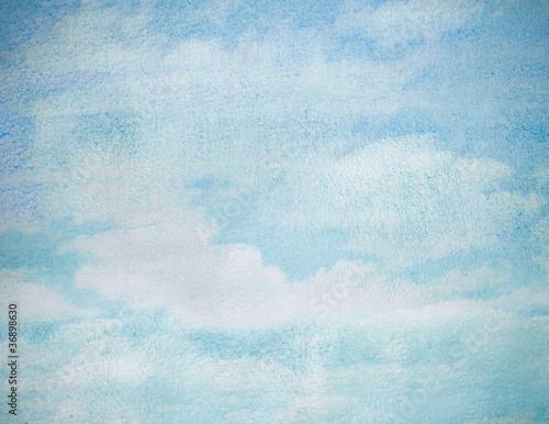 Fototapeten,hintergrund,wasserfarben,wolken,blau